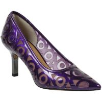 Front view of Jameena PURPLE PEARL PATENT